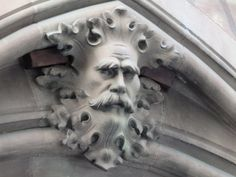 Green Man Sightings – The Company of the Green Man Plaster Sculpture, Sculpture Art, Celtic Green, Nature Spirits, Weird Creatures, Ancient Symbols, Woodland Creatures, Animal Design, Wood Carving