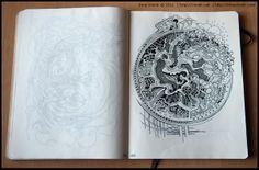 Sketchbook 2011 (vol3) by Irina Vinnik, via Behance
