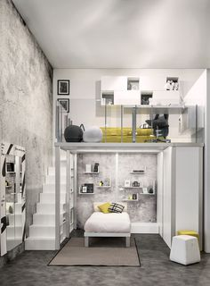 cute and elegant teen room decor ideas 6 « A Virtual Zone Awesome Bedrooms, Cool Rooms, Bedroom Loft, Small Room Bedroom, House Rooms, Dream Rooms, Room Design, Bedroom Design, Cool Kids Rooms