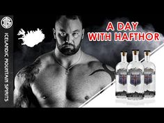A Day in the Life of Game of Thrones' Hafthor 'The Mountain' Bjornsson to Promote His New Vodka
