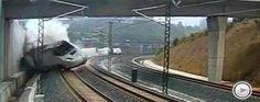 El tren siniestrado iba a 190 km/h en un tramo limitado a 80