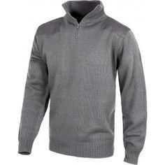 Jersey de cuello alto Referencia  S5501 Marca:  WorkTeam  Jersey de cuello alto. Puños y cintura elástica. Cremallera de nylon en cuello. Refuerzos en hombros y codos.