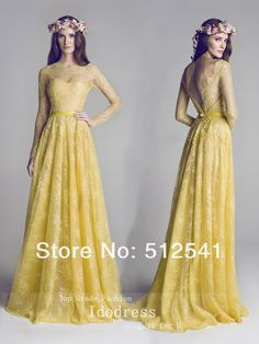 New Fashion Lace Prom Dresses Long Sleeve A Line Sweetheart Applique Beads Sheer-illusion Girl Gowns yk8R706