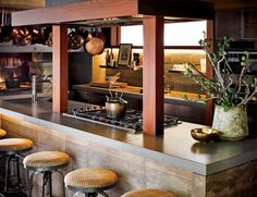 Traditional Kitchen by Ken Fulk in San Francisco, California