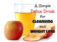 Homemade Detox Drink for Cleansing and Weight Loss