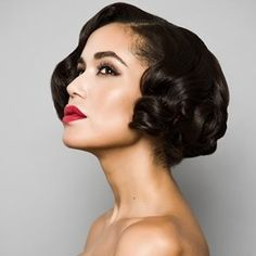 Coiffures inspir es des ann es 20 coiffures et google - Coiffure annee 50 femme ...