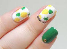 Resultado de imagen para pineapple nails