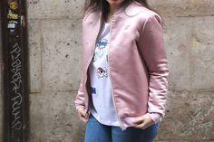 DIY Costura: Como hacer chaqueta bomber para mujer (patrones gratis) | | Oh, Mother Mine DIY!!