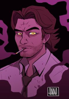 The Wolf Among Us, Big Bad Wolf, Game Art, Horror, Geek Stuff, Walking Dead, Video Games, Anime, Gaming
