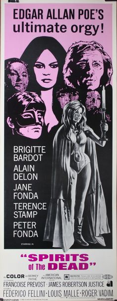 Spirits of the Dead (1968) Look who    Samuel Z Arkoff can get in one of his B Schlock Movies! The Mind Boggles...