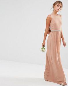 TFNC | TFNC WEDDING Drape Back Maxi Dress at ASOS