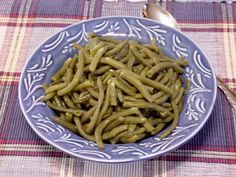 Cracker Barrel the Old Country Store Green Beans. I think I've pinned this once before but they are so good they deserve another go round!  I can hurt myself on these!