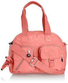 Kipling Womens Defea Handbag Pink Coral Kipling to enter online shopping or purchase click on Amazon right here http://www.amazon.com/dp/B00HFU74P2/ref=cm_sw_r_pi_dp_nuWWtb0EY6FZ25MJ