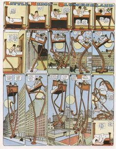 Have you ever heard of Winsor McCay? He was a comic artist and animator, best known for his charming Little Nemo in Slumberland story. Online Comics, A Comics, Little Nemo In Slumberland, Laurent Durieux, Wilhelm Busch, Religion, Pulp, Classic Comics, Comic Art