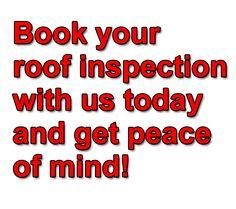 ROOF LEAK INSPECTIONS