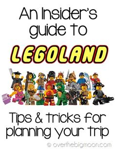 Thinking about a trip to Legoland? This is a must read! Lots of information about Legoland!