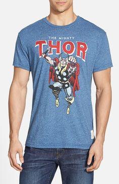 Men's Retro Brand 'The Mighty Thor' Graphic T-Shirt