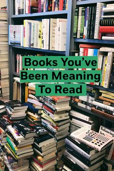 Reading lists begin as a shelf full of hope until the year flies by, and you find yourself flooded with procrastination. Cheers to the books we& been meaning to read all these years and should probably. I Love Books, Good Books, Books To Read, Reading Lists, Book Lists, Message Bible, Enough Book, Activities For Adults, Epic Movie