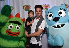 Diplo and son Lockett Pentz attend Yo Gabba Gabba! LIVE! Music Is Awesome! at the Shrine Auditorium on Saturday November 22, 2014, in Los Angeles. #Diplo #wesleypentz #thomaswesleypentz #maddecent #majorlazer #PeaceIstheMission #jackÜ #LockettPentz