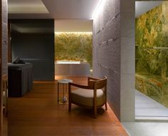 The Spa at Bvlgari Hotel and Residences, London Bulgari Hotel London, Bvlgari Hotel, Spa London, London Hotels, London City, Hotel Room Design, Relaxation Room, Spa Design, Treatment Rooms