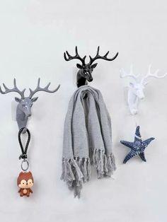 Search elk | SHEIN USA Balloon Dog, Balloon Animals, Piggy Bank Craft, Deer Horns, Antlers, Deer Statues, Deer Decor, Hotel Decor, Ceramic Animals
