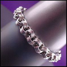 3 by 3 Basics Chainmail Bracelet