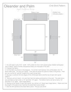 Crib-Skirt-Pattern.gif 612×792 pixels