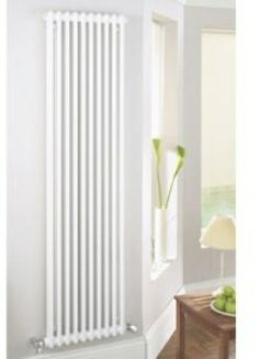 The Acova steel column radiator comes in a traditional style, that is a classic equally at home in modern environments or traditional houses. Supplied with wall mounted brackets, blanking plugs, and bleed valves. House Design, Room, Interior, Big Bathrooms, Home, Bathroom Suites, Interior Renovation, House Inside, Vertical Radiators