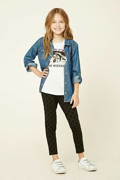 Shop girls dresses, jackets, skinny jeans and more - girls girls forever 21 Girls Fall Fashion, Girls Fall Outfits, Preteen Fashion, Little Girl Outfits, Look Fashion, Outfits For Teens, Cute Outfits, Fashion Outfits, Girls Dresses