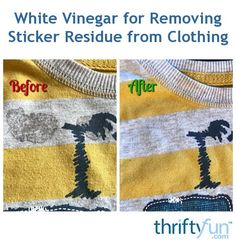 Have you ever run a t-shirt through the wash without removing a sticker that