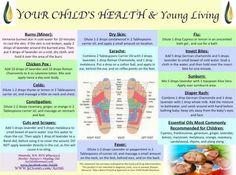 Essential oils for children