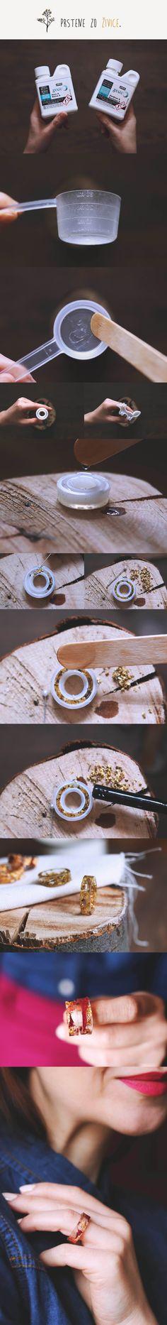 Prstene zo živice / DIY