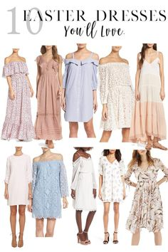 Cutest Easter Dresses for Moms // Spring and Summer Dresses // Easter Outfit