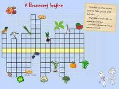 Výsledok vyhľadávania obrázkov pre dopyt tajničky pre deti Crossword, Crossword Puzzles