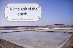 A little salt of the earth...    DearOne Photography  Taiwan | Photography and Travel Blog
