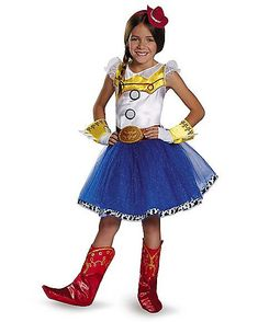 Toy Story Jessie Tutu Child Costume - Set yourself up for a very fun Halloween adventure when you dress in the officially licensed Disney Toy Story Jessie Tutu Child Costume.