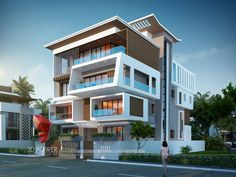 We are expert in designing ultra modern home designs Modern Small House Design, Modern Apartment Design, Modern Exterior House Designs, 3 Storey House Design, Bungalow House Design, Ultra Modern Homes, Luxury Modern Homes, Classic House Exterior, Dream House Exterior