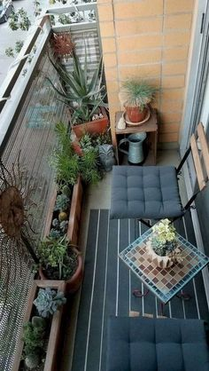 Amazing Small Balcony Ideas To Make Your Apartment Look Great. Below are the Small Balcony Ideas To Make Your Apartment Look Great. This post about Small Balcony Ideas To Make  Narrow Balcony, Small Balcony Design, Small Balcony Garden, Small Balcony Decor, Balcony Plants, Small Balcony Furniture, Terrace Design, Modern Balcony, Small Balconies