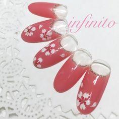 セルフで簡単!春のジェルネイル「桜アート」の作り方 - Yahoo! BEAUTY