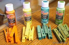 Dyed Glitter Clothespins -- make adorable clothespins the easy way with dye! Source by pin crafts Wreath Crafts, Craft Stick Crafts, Diy Crafts To Sell, Quick Crafts, Craft Ideas, Diy Ideas, Reuse Old Clothes, Old Baby Clothes, Casual Clothes