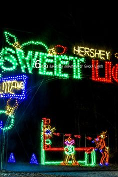 12 days of christmas hershey pa style 6 illuminated animations at sweet lights in - Hershey Christmas Lights