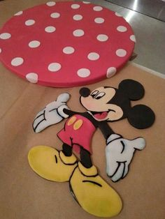 #Mickey_Mouse #Cakeboard #cake_topper