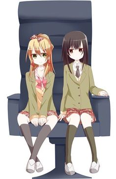 Kawaii Manga Yuri, Yuri Anime, Manga Anime, Anime Art, Citrus Anime, Cute Manga Girl, Beaux Couples, Vocaloid, Anime Eyes