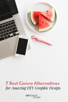 7 Best Canva Alternatives for Amazing DIY Graphic Design #visualcontent #tools #canva #DIYGraphicDesign