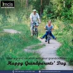 Travel and make the most of your 'Day', this Grandparents' Day. Happy Grandparents Day, Grandchildren, Happiness, Vacation, Movie Posters, Travel, Vacations, Viajes, Bonheur
