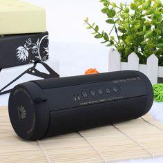 Wireless Bluetooth Speaker Waterproof Portable Outdoor Mini Bicycle Speaker Column Box Loudspeaker Design for iPhone Xiaomi Wireless Outdoor Speakers, Cool Bluetooth Speakers, Waterproof Bluetooth Speaker, Stereo Speakers, Bose Wireless, Usb, Ipod, Portable Mini Speaker, Audio Crossover