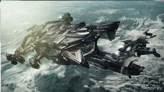 """videogame-thoughts:  """"Star citizen Idris ship in engine screenshot. Looks amazing"""""""