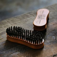 Experience this handmade wooden beard brush from Brooklyn Grooming a perfect size and all natural handmade iconic grooming accessory best for beard lovers Beard Brush, Hair Brush, Beard Look, Boar Bristle, Beard Grooming, Smudge Sticks, Natural Wood Finish, Beard No Mustache, Beard Care