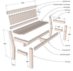How to make an oak garden bench diy potting bench plans ideas to beautify your garden Potting Bench Plans, Garden Bench Plans, Outdoor Garden Bench, Wooden Garden Benches, Garden Seat, Porch Bench, Diy Bench, Diy Chair, Garden Storage Shed