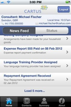 Relocation service launches iPhone app
